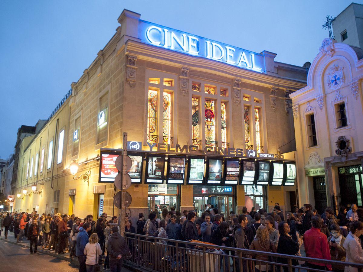 Foto: Imagen de archivo de los Cines Ideal, ubicados en pleno centro de Madrid (Gtres)
