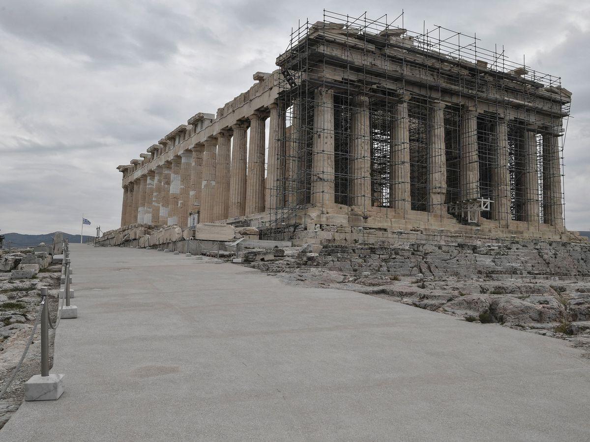 Foto: El Parthenon en Atenas. (EFE)