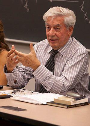 Primeras reacciones a la concesión del Nobel a Vargas Llosa