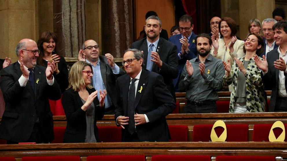 Rivera pide ya otro 155 y Sánchez, esperar ante el nuevo escenario en Cataluña