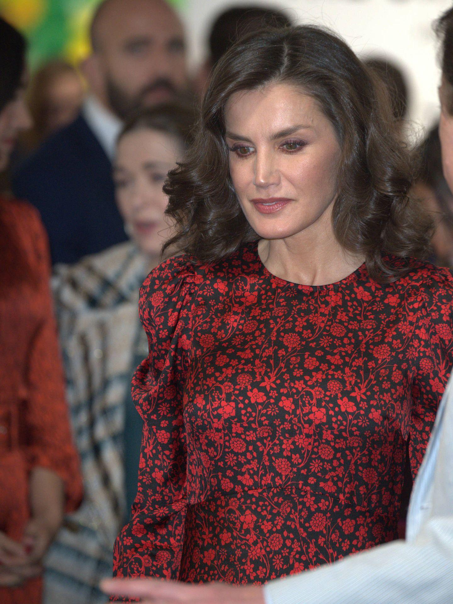 La reina Letizia, este jueves en ARCO. (Limited Pictures)
