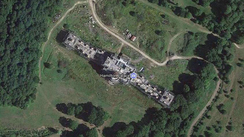La mansión en Google Maps
