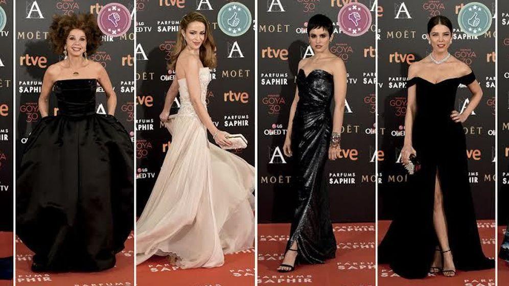 Foto: Las mejor y peor vestidas de los Premios Goya 2016 (Vanitatis)