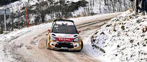 Loeb sigue intratable en Montecarlo y Sordo cae hasta el cuarto puesto
