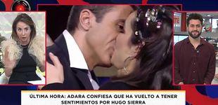 Post de María Patiño afea el beso entre Hugo y Adara: