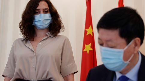 Ayuso se reúne con el embajador de China para fomentar la colaboración ante los brotes