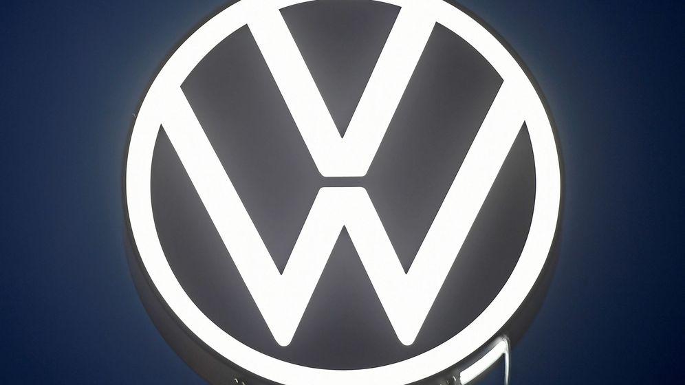 Foto: Logo de Volkswagen.