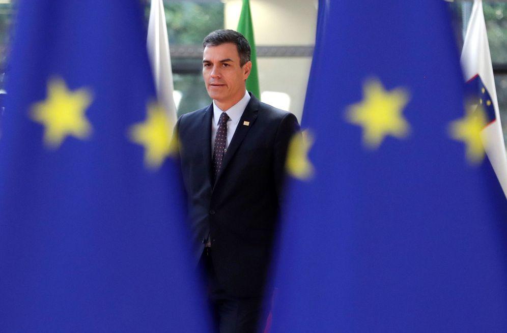Foto: Pedro Sánchez, el pasado 2 de julio en el último Consejo Europeo extraordinario, en Bruselas. (EFE)
