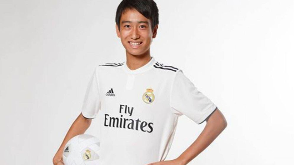 Foto: 'Pipi' Nakai, en una imagen promocional del club.