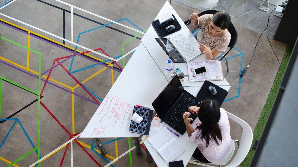 Foto: Una oficina abierta de 'coworking'. (Pexels)