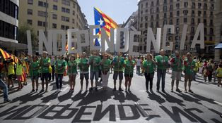 Camelos catalanes: Cataluña no está cómoda