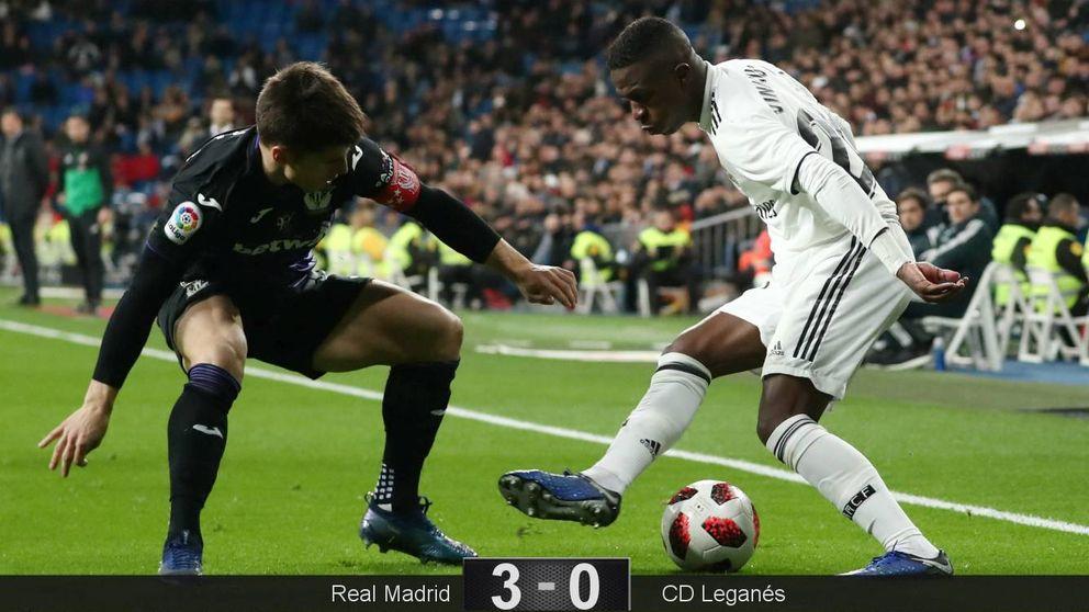 La hambruna del Real Madrid la compensa Vinícius