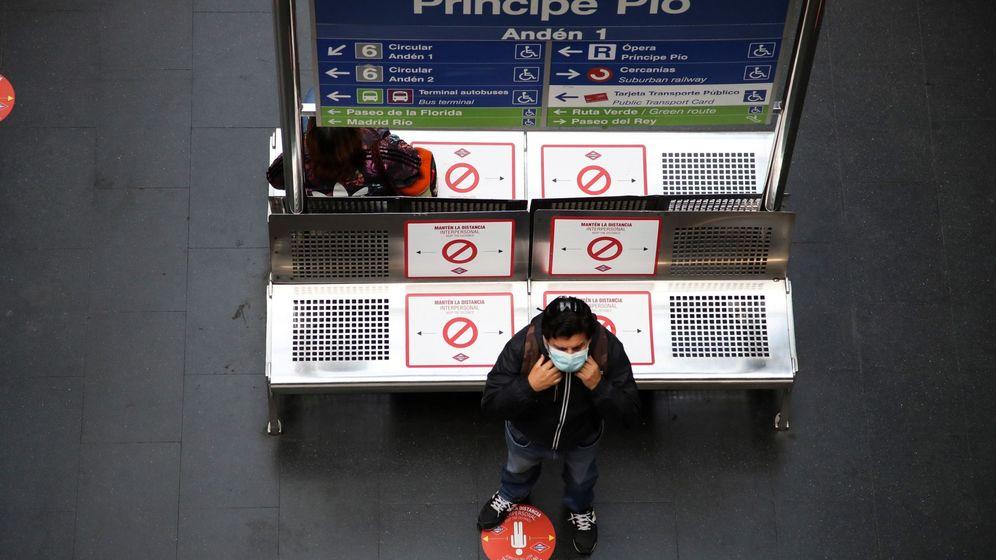 Foto: Estación intermodal en Madrid. (EFE)