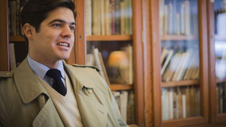 Valls Taberner, retratado por Carmen Hache