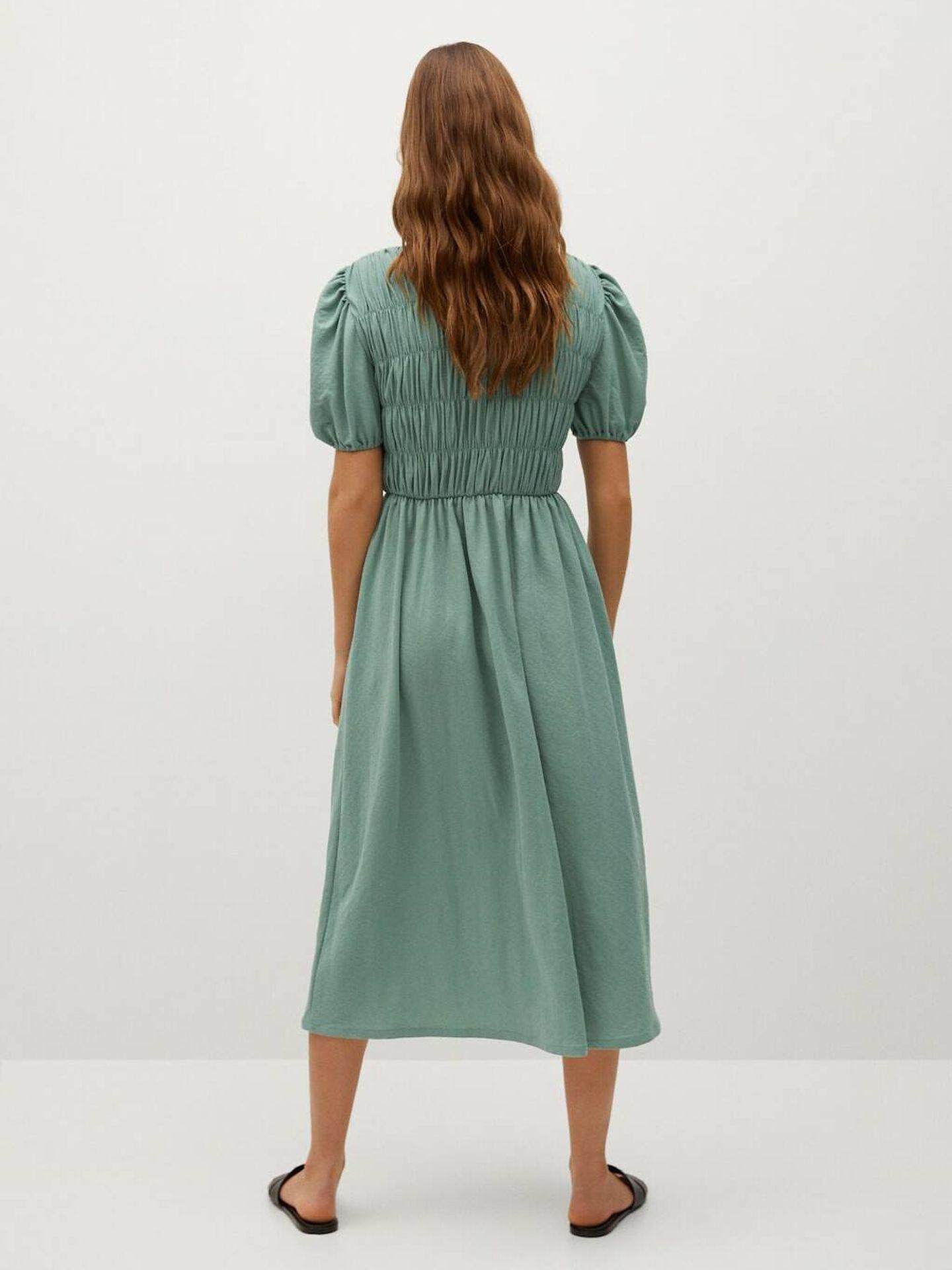 El vestido de las rebajas de Mango. (Cortesía)