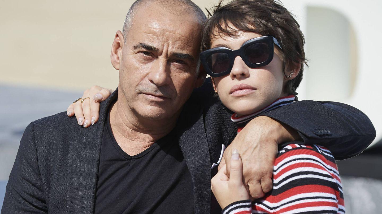 Eduard y Greta Fernández. (Getty)