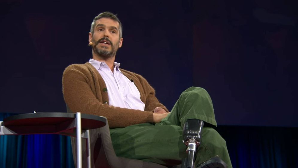 Foto: El doctor en una charla TED. (Youtube)