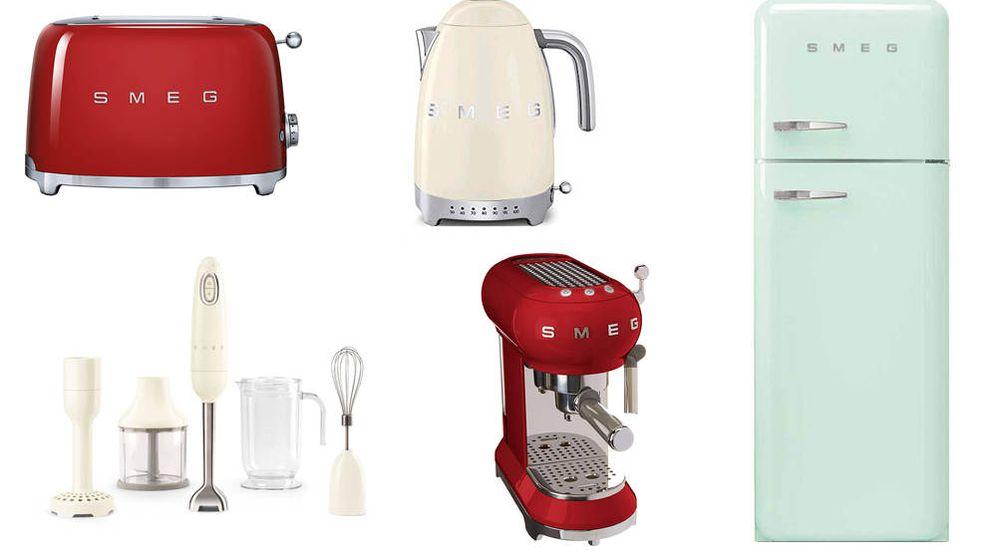 Foto: Los electrodomésticos vintage de SMEG están entre los más deseados por los amantes del diseño