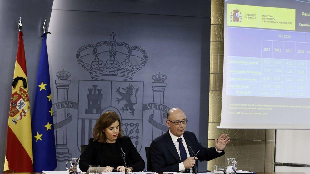 España, a dos décimas del objetivo de déficit para 2014 con un 5,7%