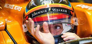 Post de Alonso se traga una de cal y da otra de arena: