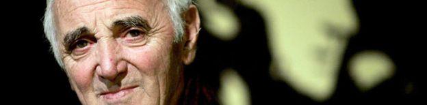 Foto: Aznavour hará dúos con Plácido Domingo y Julio Iglesias en su próximo disco