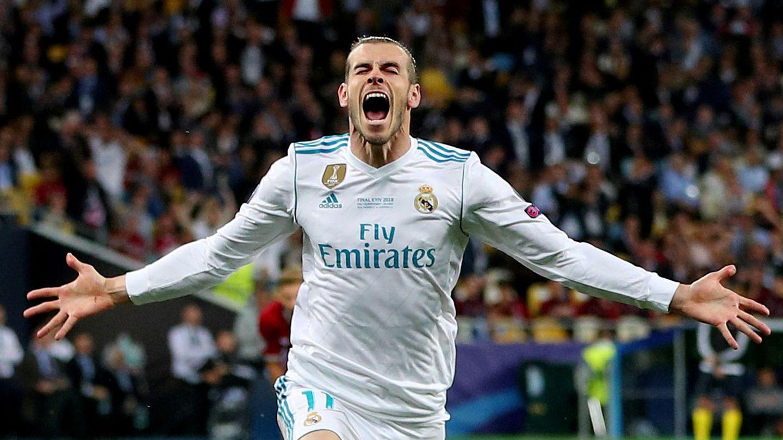 Bale celebra su gol en la final de Champions frente al Liverpool. (Reuters)