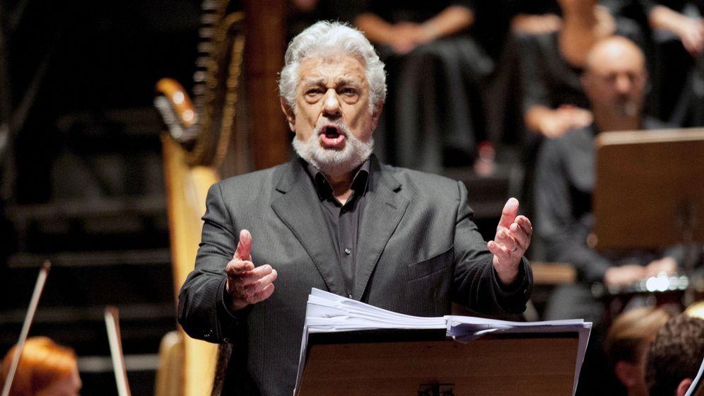 Foto: El tenor Plácido Domingo. (EFE)