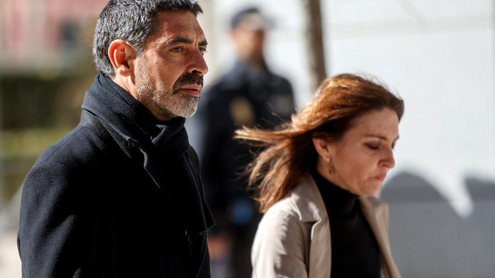 Foto: Josep Lluís Trapero, en la Audiencia Nacional. (Reuters)