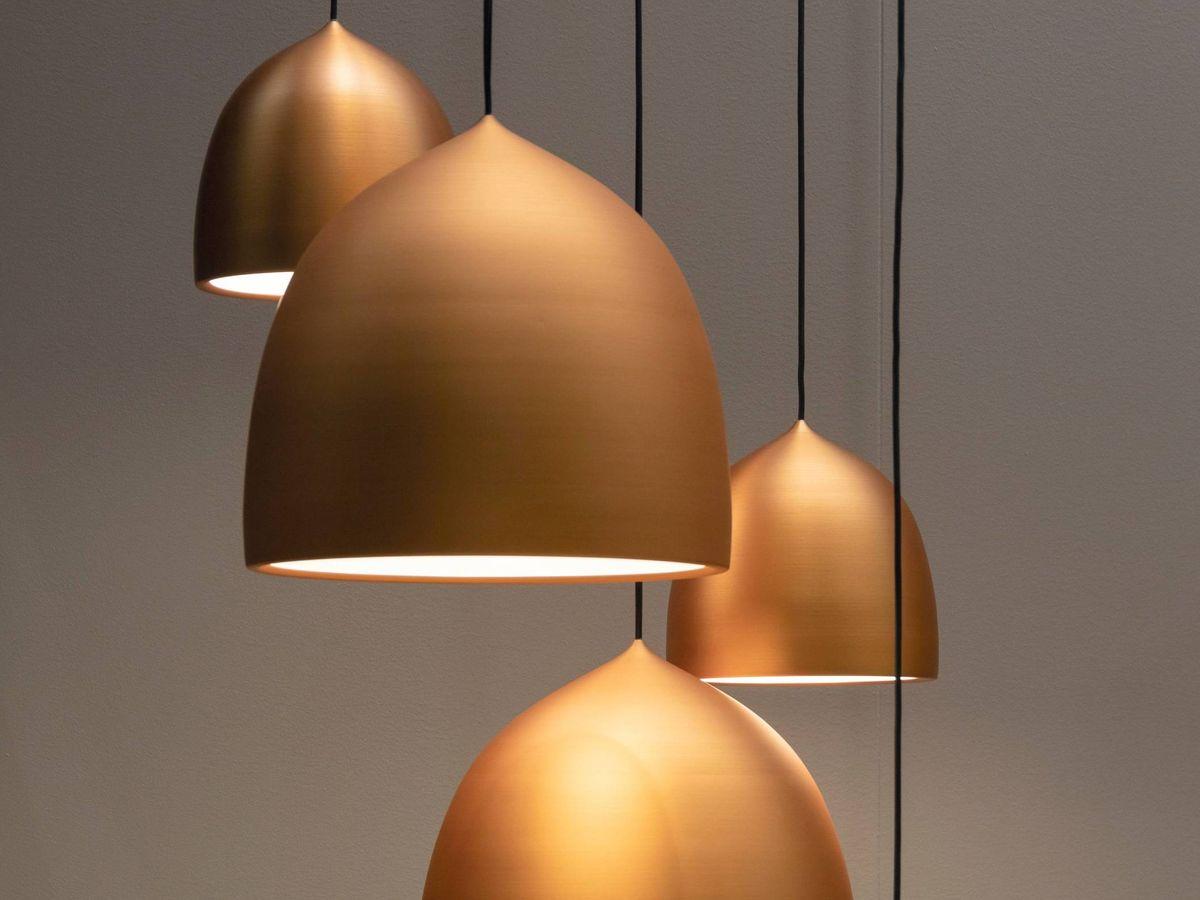 Foto: Lámparas de techo en Maisons du Monde. (Jean-Philippe Delberghe para Unsplash)