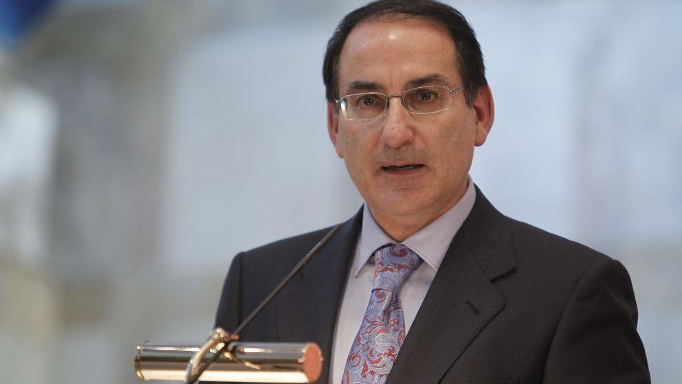 El presidente de la CEA, Javier González de Lara. (EFE)