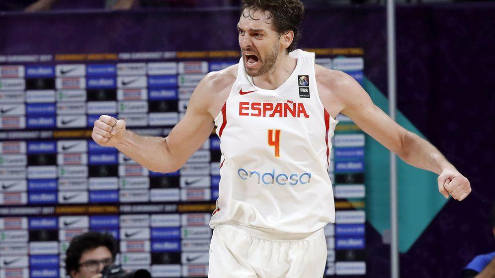 Foto: Pau Gasol lideró a España en el EuroBasket 2017, donde la Selección ganó la medalla de bronce. (EFE)
