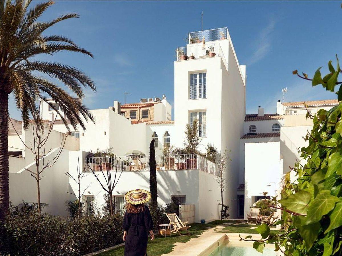 Foto: El hotel Cristine Bedford en Menorca donde se ha alojado el grupo de amigas. (Redes sociales)
