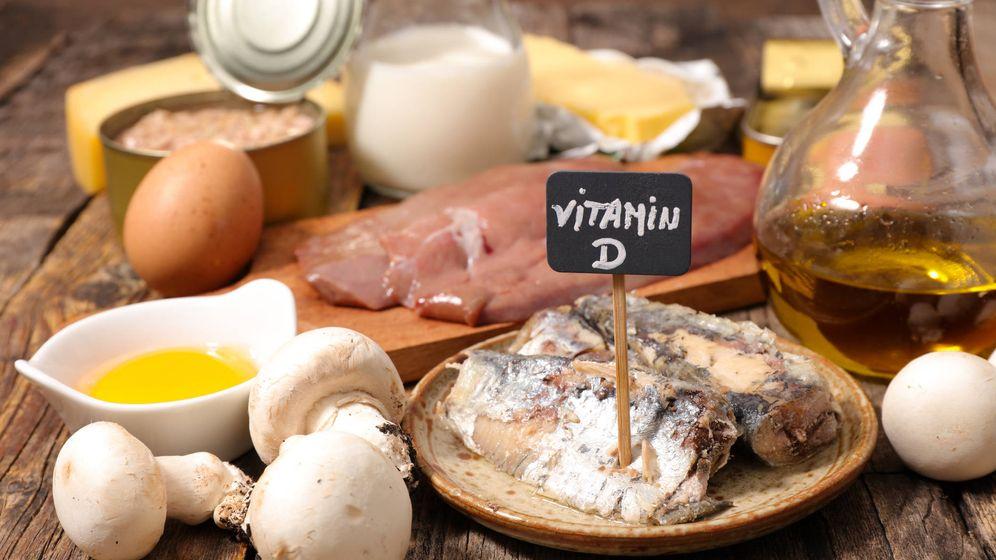 Foto: Alimentos ricos en vitamina d. (iStock)