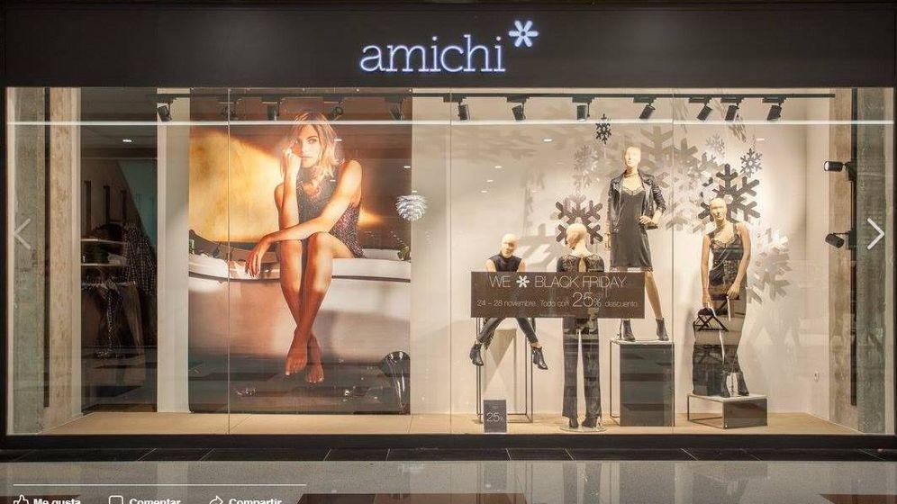 Foto: Imagen de un escaparate de una tienda Amichi. (EFE)