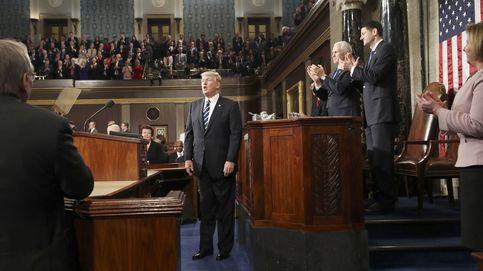 Y por fin Trump sonó presidencial en su discurso ante el Congreso