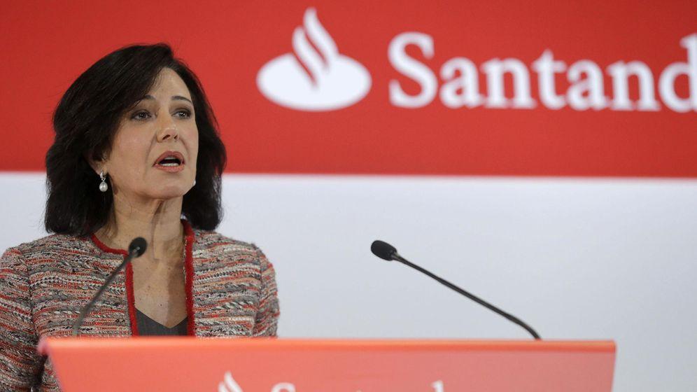 Foto: La presidenta del Banco Santander, Ana Patricia Botín, durante la presentación de resultados. (EFE)
