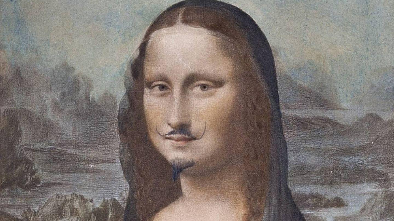 La 'Gioconda' con bigote y perilla de Duchamp