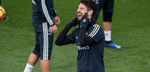 Post de La falsa tranquilidad de Solari con Isco en el Real Madrid