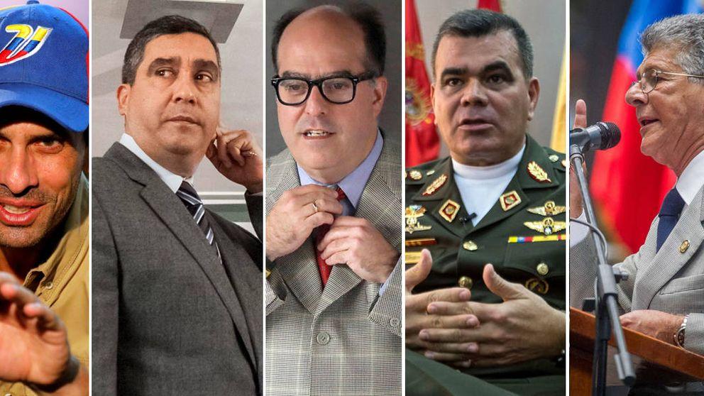 Estas son las caras de una posible transición en Venezuela