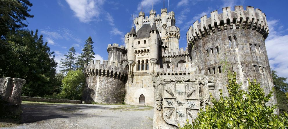 Foto: El Castillo de Butrón, símbolo de Vizcaya, a subasta por 3,5 millones