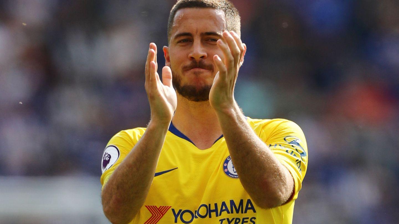 La final de la Europa League será el último partido de Hazard con el Chelsea. (Reuters)