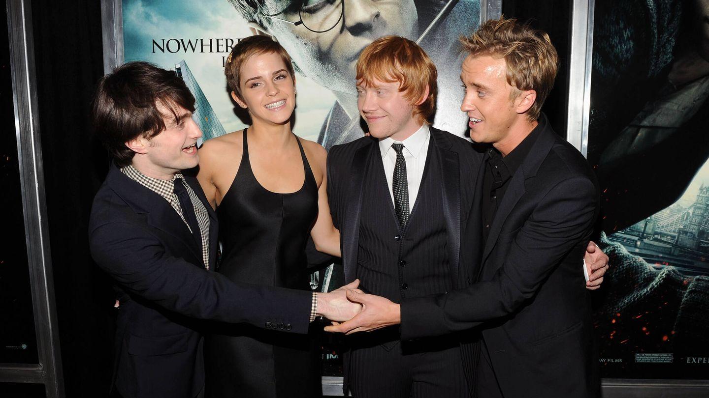 El reparto de 'Harry Potter' en 2010. (Getty)
