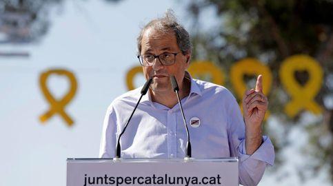 Ciudadanos registra en el Parlament la moción de censura contra Torra