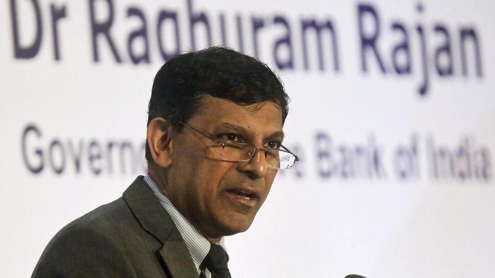 Foto: El gobernador del Banco de la Reserva de India, Raghuram Rajan