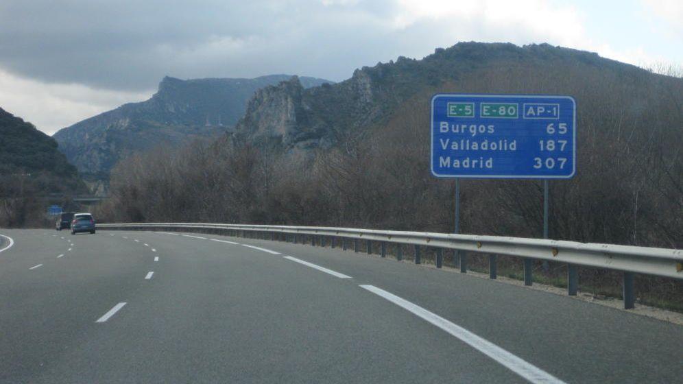 Foto: Imagen de la autopista AP-1.