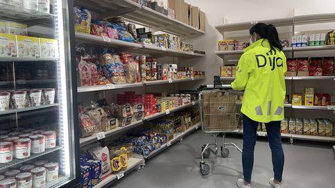 La red de 'súper fantasma' que llena Madrid y BCN para llevarte la compra en 10 minutos