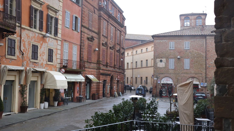 Città Della Pieve, refugio de la familia Draghi en Umbría. (EFE)