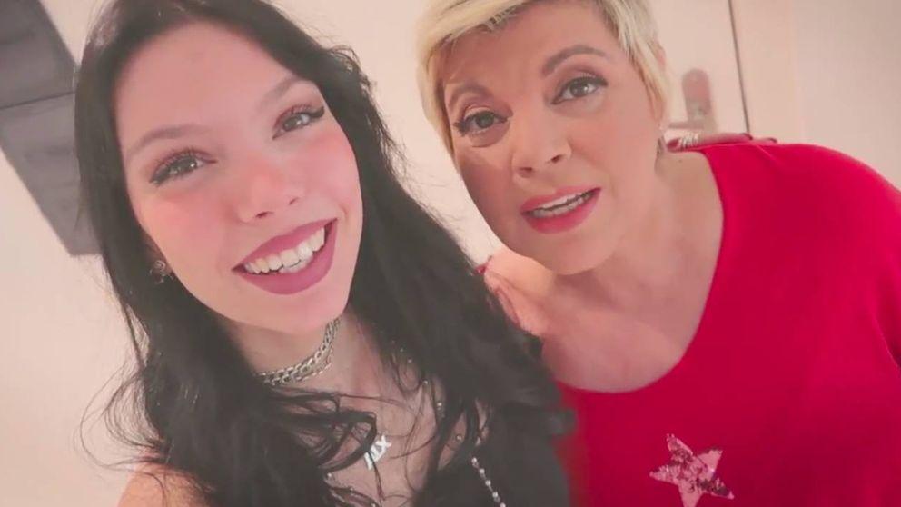 Alejandra Rubio se estrena con una íntima entrevista a su madre, Terelu