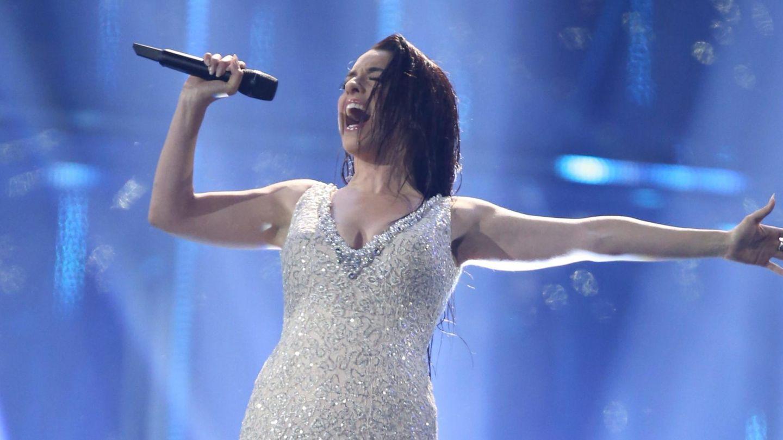 Ruth Lorenzo, en su actuación en Eurovisión. (EFE)