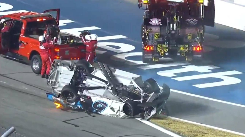 Escalofriante accidente de un piloto de NASCAR en las 500 Millas de Daytona